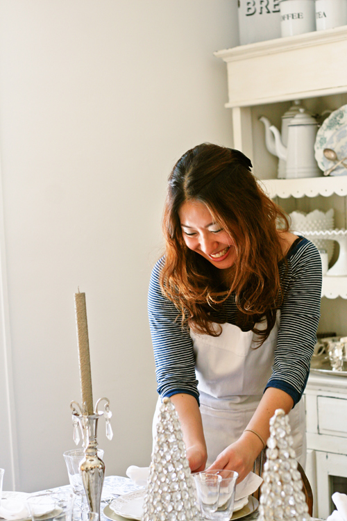 Yoshiko Sullivan, a cooking class instractor and a life style coordinator in Greater Boston area